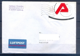 D323- Postal Used Cover Post From Germany To Pakistan. - Germany