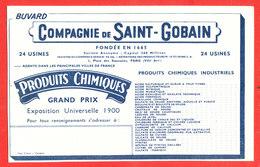 BUVARD Produits Chimiques SAINT GOBAIN - Gas, Garage, Oil