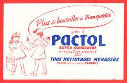 BUVARD PACTOL - Buvards, Protège-cahiers Illustrés