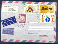 D328- Postal Used Cover Post From Germany To Pakistan. - Germany