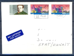 D329- Postal Used Cover Post From Germany To Pakistan. - Germany