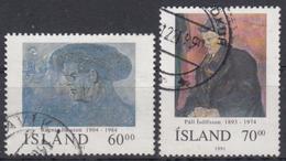ISLANDIA 1991 Nº 704/05 USADO - Gebraucht