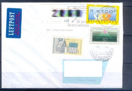 D334- Postal Used Cover Post From Germany To Pakistan. - Germany
