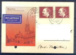 D338- Postal Used Post Card Post From Germany To Pakistan. RARE - Germany