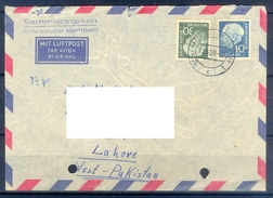 D341- Postal Used Cover Post From Germany To Pakistan. - Germany