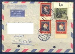 D342- Postal Used Cover Post From Germany To Pakistan. - Germany