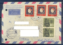 D343- Postal Used Cover Post From Germany To Pakistan. - Germany