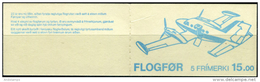 Foroyar 1985. Michel #125/29 Bkl#3 MNH/Luxe.  Airplanes. (B03) - Féroé (Iles)