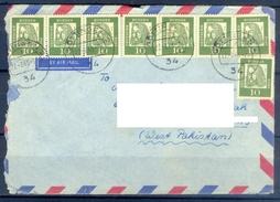 D346- Postal Used Cover Post From Germany To Pakistan. - Germany