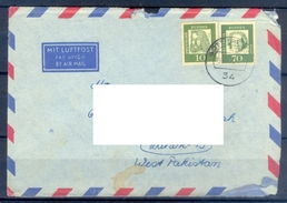 D347- Postal Used Cover Post From Germany To Pakistan. - Germany