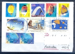 D356- Postal Used Cover Post From Iran To Pakistan. Joint Issue. Fish. - Iran