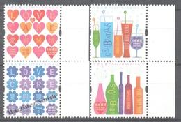 Hong Kong 2006 Yvert 1297-00, Wine, Bottles, Love Care, Hearts - MNH - 1997-... Chinese Admnistrative Region
