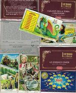 LOTTO DI 10 SERIE FIGURINE LIEBIG NUOVE EMISSIONI Dal N.1869 Al N.1878 CATALOGO UNIFICATO - Liebig