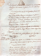 Gabriel-Philippe-Charles-Alexandre Labbé Dit Bazoche.Radiation De Son Nom De La Liste Des émigrés.FALAISE,An Six. - Documents Historiques
