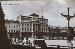 Romania - Postcard Circulated In 1960 - Arad - National Bank  - 2/scans - Banks
