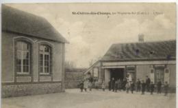 28 SAINT-CHERON-des-CHAMPS (108 Hab.) Par NOGENT Le ROI - L'Ecole - Très Animée - Autres Communes
