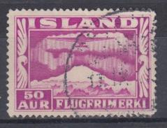 ISLANDIA 1934 AEREO 18 USADO - Poste Aérienne