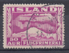 ISLANDIA 1934 AEREO 18 USADO - Posta Aerea