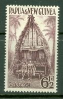 Papua New Guinea: 1952/58   Pictorial    SG7a     6½d   Maroon     MH - Papua New Guinea
