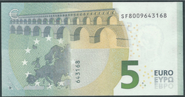 € 5 ITALY  SF S001 H1  DRAGHI  UNC - EURO