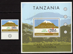 "Tanzania  2006 International Stamp Exhibition ""PHILA AFRICA '06"" - Dar Es Salaam, Tanzania.S/S 7 Stamps. MNH - Tanzania (1964-...)"