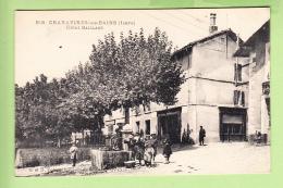 CHARAVINES - Superbe Plan Animé Devant Hôtel GAILLARD - TBE - Coteau Du Coubedon - Ed. G. Et D. - 2 Scans - Charavines