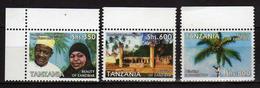 Tanzania 2006 Tourism In Zanzibar ( 3 V. ). MNH - Tanzania (1964-...)