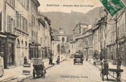01 NANTUA  Grande Rue Du Collège - Nantua