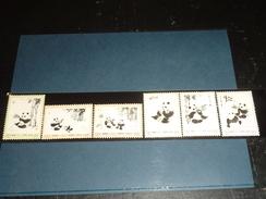 Timbres De Chine N°1869/74 Yvert & Tellier état Luxe Série Sur Le PANDA - Stamps Of China - NEUF SANS CHARNIERE - 1949 - ... Repubblica Popolare