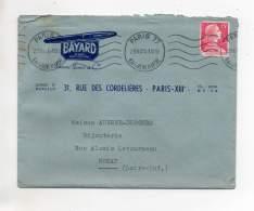 Enveloppe - Stylo Bayard, Paris 1955 - Facturas & Documentos Mercantiles