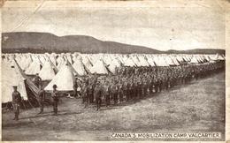 VERY RARE     CANADA´S MOBILIZATION CAMP VALCARTIER      MILITARIA - - Guerra 1914-18
