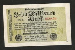 DEUTSCHLAND - Weimarer Republik - 10000000 Mark (Berlin 1923) - [ 3] 1918-1933 : Weimar Republic