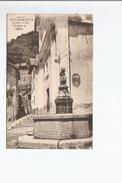 ISOLA SUR TINEE (A M) 1340 LA FONTAINE ET L'EGLISE - Frankreich