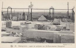 Métiers - Carrières De Marbre Sainte Anne (Gougnies) Belgique - Coupe Polissage - Steengroeven - Industry