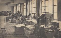 Belgique - Bruxelles - Papeteries De Ruysscher 39 Rue De La Grande Ile - Machines Papier  - Métiers - Old Professions