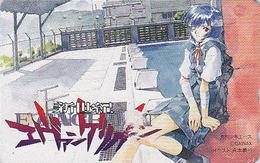Télécarte Japon / 110-011 - MANGA - EVANGELION - ANIME Japan Phonecard - BD COMICS Telefonkarte - 8076 - Comics