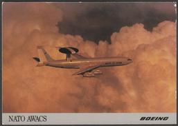 Boeing NATO AWACS - Postcard - 1946-....: Modern Era