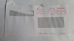 522 - BANCA POPOLARE PUGLIESE  24/8/10 - Affrancature Meccaniche Rosse (EMA)