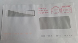 528 - BANCA POPOLARE PUGLIESE  27/8/10 - Affrancature Meccaniche Rosse (EMA)