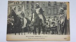 ROUEN 76 Millenaire Normand Rollon Recu Autorites Haute Normandie  CPA Postcard Animee - Rouen