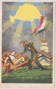 Irredenta Postcard - Hungarian Future Wakes Me :) - Postcards