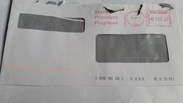 591 - BANCA POPOLARE PUGLIESE 15/2/11 - Affrancature Meccaniche Rosse (EMA)