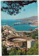 Malaga - Vista Parcial Desde 'Gibralfaro' - Plaza De Toros -  Espana - Corrida
