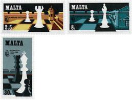 Ref. 30729 * NEW *  - MALTA . 1980. CONGRESS OF THE INTERNATIONAL CHESS FEDERATION. CONGRESO DE LA FEDERACION INTERNACIO - Malta