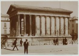 Nîmes. La Maison Carrée. Citrate Circa 1900. - Lieux