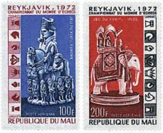 Ref. 30722 * NEW *  - MALI . 1973. WORLD CHESS CHAMPIONSHIP IN REYKJAVIK. CAMPEONATO DEL MUNDO DE AJEDREZ EN REYKJAVIK - Mali (1959-...)