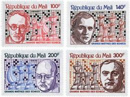 Ref. 30724 * NEW *  - MALI . 1979. GREAT CHESS MASTERS. GRANDES MAESTROS DEL AJEDREZ - Mali (1959-...)