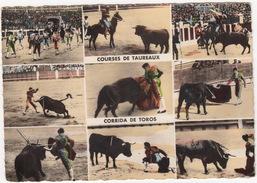 Courses De Taureaux - Corrida De Toros - (Tarbes, 1959) - Corrida