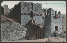 Porte De La Citadelle, Alep, Syrie, C.1910 - Al-Mareef Postcard CPA - Syria