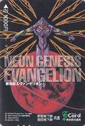 Carte Prépayée Japon - MANGA - EVANGELION  - ANIME Japan Prepaid Passnet T Card  - BD COMICS Karte - 8091 - Comics
